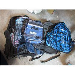 8 Assorted Backpacks  - Store Returns