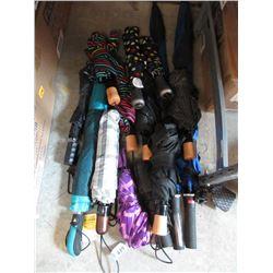 14 Assorted Rain Umbrellas - Store Returns