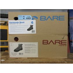2 New Pairs of Bare Kermode Fishing Boots