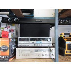Toshiba Cassette Player, Viking 8 Track & More