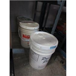 Three 5 Gallon Pails of Urethane