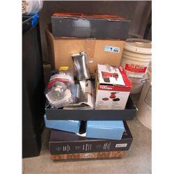9 Assorted Household Goods & Exercise Equipment