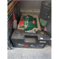 Coleman Stove, Tire Chains & Jeep Tray Floor Liner