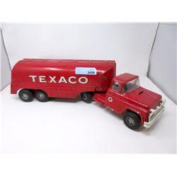 """1950s Pressed Steel 24"""" Buddy L Texaco Tanker"""