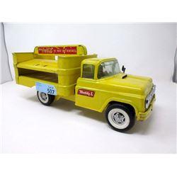 """1950s 15"""" Buddy L Coca-Cola Delivery Truck"""