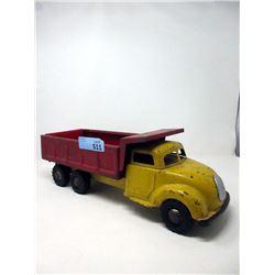 "Rare 1950s Pressed Steel 19"" Dump Truck"