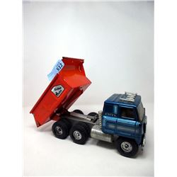 "1970s 14"" Ertl Transtar Automatic Dump Truck"