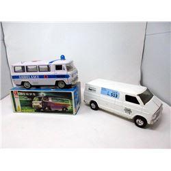 "1970s 11"" Ertl Ronald McDonald House Dodge Van"
