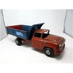 "1950s Marx 19"" Lunar Litho Toy Dump Truck"