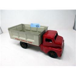 "1950s 12"" Structo Hydraulic Dump Truck"