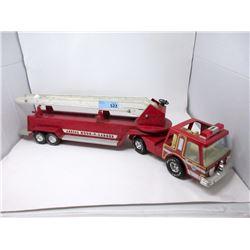 "1970s 31"" Nylint Aerial Hook-N-Ladder Fire Truck"