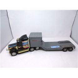 "1970s Ertl 24"" Electric Start Transport Truck"