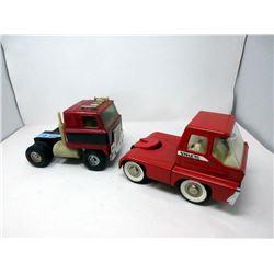 1960s Ertl Transport & Structo Transport Trucks
