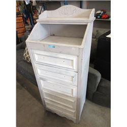 Wood Storage Cabinet with Drawers
