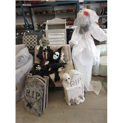 11 Halloween Decorations - Tombstones & More