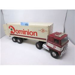 "1970's Ertl ""Dominion"" 22"" Transport Toy Truck"