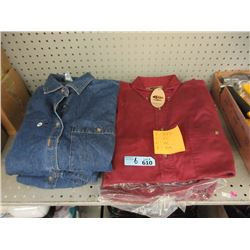 6 New Women's & 6 New Men's Denim Shirts