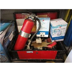 Tool Box, Fire Extinguisher & More