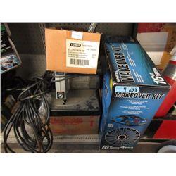 4 Box Lot of Tools & Accessories