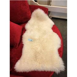 24  x 41' Genuine Sheepskin Rug