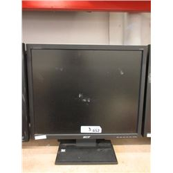 """3 Acer 19"""" LCD Monitors - Untested"""