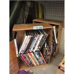 2 Boxes of Assorted DVD Movies
