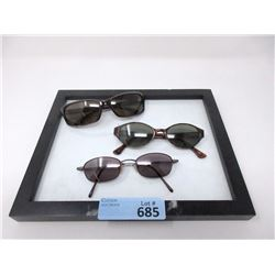 3 New Pairs of Designer Sunglasses