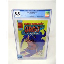 "Graded 1982 ""Groo the Wanderer #1"" Pacific Comics"