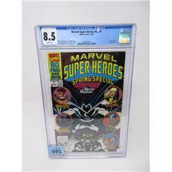 "Graded 1990 ""Marvel Super-Heroes v#2 #1"""