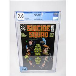 "Graded 1987 ""Suicide Squad #1"" DC Comic"