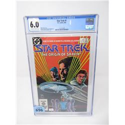 "Graded 1984 ""Star Trek #7"" DC Comic"