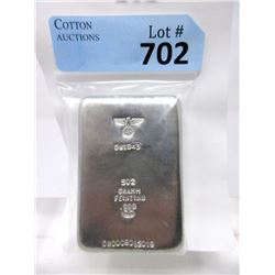 "503 Gram .999 Tin ""Nazi Eagle & Swastika"" Bar"