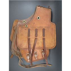 "Large Saddle Bags- 23""H X 14""W- Stamped"