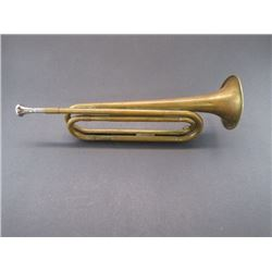 "Marked US Regulation Made In USA Bugle- 17""L"