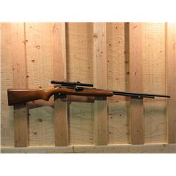 "Remington Model 550-1 Semi Automatic Rifle- .22 S-L-LR- 24"" Barrel- Weaver Scope #NA"