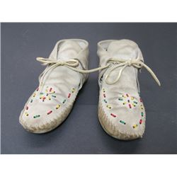 "Beaded Moccasins- 9.5""L"