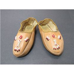 "Baby Beaded Moccasins- 6""L"