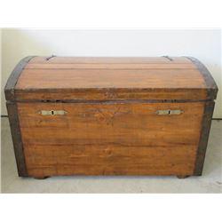 """Wooden Trunk- 33""""L X 20""""D X 18""""H"""