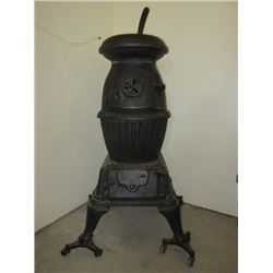 US Army #15 Cannon Heater on Casters- Made 1900- 1920- Used in WWI and WWII