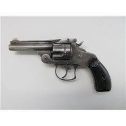 Smith and Wesson Revolver- .38- Top Break- Nickel-2nd Generation 1880- 1884- Double Action