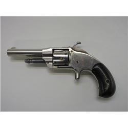 Otis Smith Revolver- .32 RF- Spur Trigger- Nickel- Patented April 15 1873
