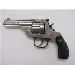 Harrington and Richardson Nickel Revolver- .32 Auto Eject- Top Break- #218072