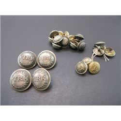 22 Chicago Fire Department Buttons