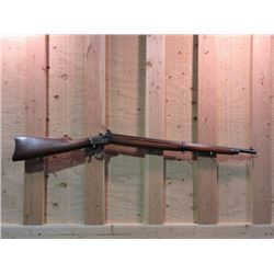 "Winchester Winder Musket Lever Action- .22 Short- Training Rifle- Marked US Flaming Bomb- 28"" Barrel"