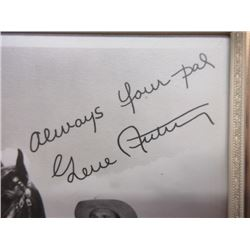 "Signed Gene Autry Photograph- 8.5""H X 6""W"