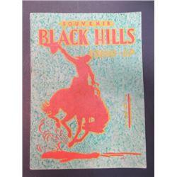 """1931 Black Hills Round-Up Program- 10.5"""" X 7.5"""""""