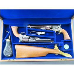 2 Colt United States Cavalry Commemorative Black Powder Revolvers- .44- Unfired- Case Hardened