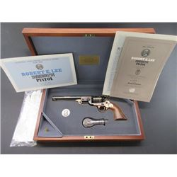 The Official Robert E Lee Commemorative Black Powder Revolver Authorized By the US Historical Soc.