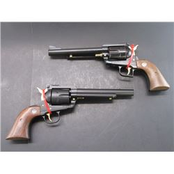 2 Ruger New Model Blackhawk Revolvers- .357 Mag + .41 Mag- Unfired Since They Were Cerakoted