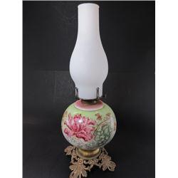 Hand Painted Kerosene Lamp